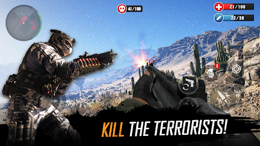 FPS Commando Strike Mission: Shooting Gun Games  screenshots 4