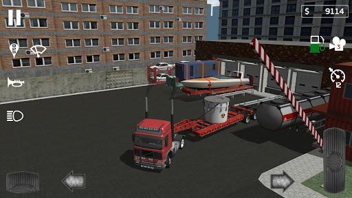 Code Triche Cargo Transport Simulator (Astuce) APK MOD screenshots 2