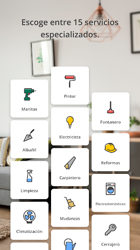 Jobin | Reparaciones, reformas, pintura y mudanzas 4.9.6 Screenshots 2