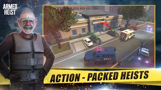 Armed Heist MOD (Unlocked/Immortality) 1