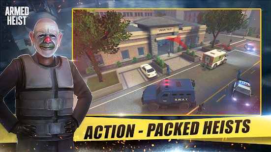 Armed Heist: TPS 3D Sniper shooting gun games Screenshot