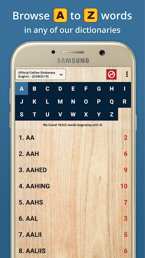 Word Checker - For Scrabble & Words with Friends android2mod screenshots 17