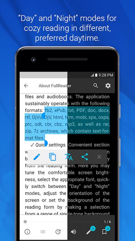 FullReader - all e-book formats reader  poster 5