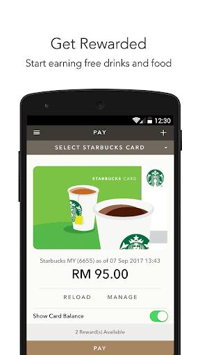 Starbucks Malaysia 2.7 Screenshots 1