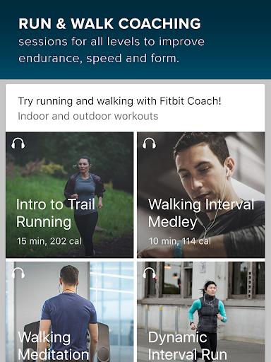 Fitbit Coach screenshots 2