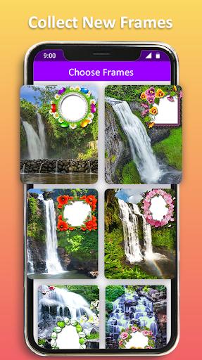 Photo Editor Frames: Water fall Background screenshot 6