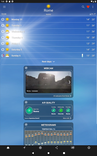 The Weather: weather forecast by iLMeteo  screenshots 17