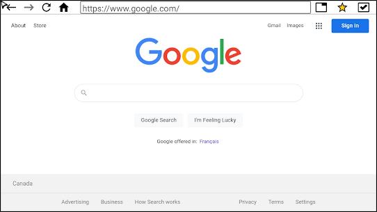 Internet Browser (TV) Apk Download 4