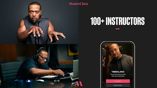 Free MasterClass  Learn from the best 4
