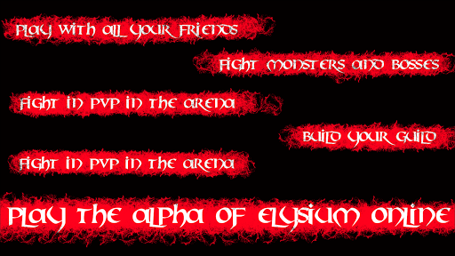 Elysium Online - MMORPG (Alpha) screenshots 4