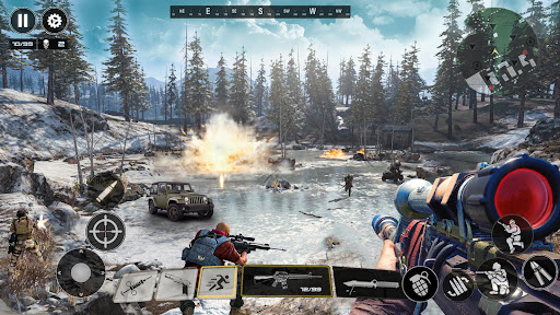 FPS Commando Shooting Games: Critical 3D Gun Games apktram screenshots 5