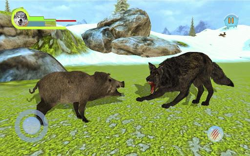 Wildlife Artic Wolf Game - Warewolf Games 2020 0.1 screenshots 3