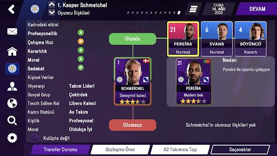 Football Manager 2021 Mobile Hile v12.1.0 Kilitler Açık Apk indir 5