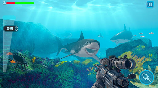 Survivor Sharks Game: Shooting Hunter Action Games 1.24 screenshots 18