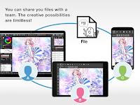 screenshot of MediBang Paint - Make Art !