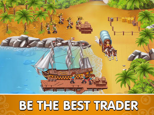 Pocket Ships Tap Tycoon: Idle Seaport Clicker modavailable screenshots 9