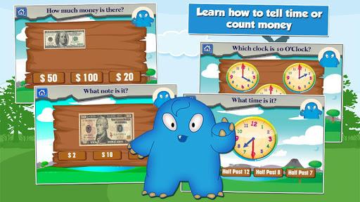 Monster Kid 2nd Grade Games 3.20 screenshots 8