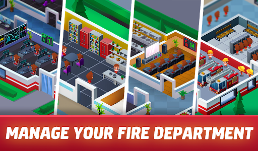 Idle Firefighter Tycoon - Fire Emergency Manager 0.14 screenshots 17