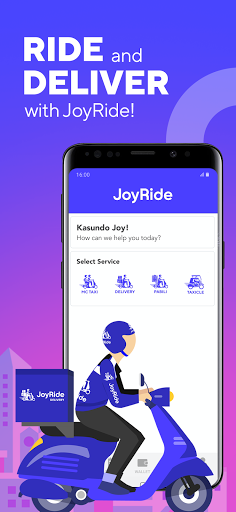 JoyRide - Fast, Reliable, and Affordable screenshots 1
