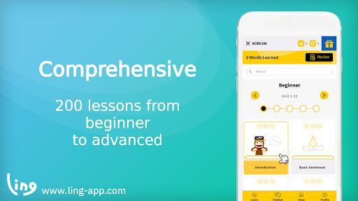 Learn Korean Language with Master Ling  screenshots 1