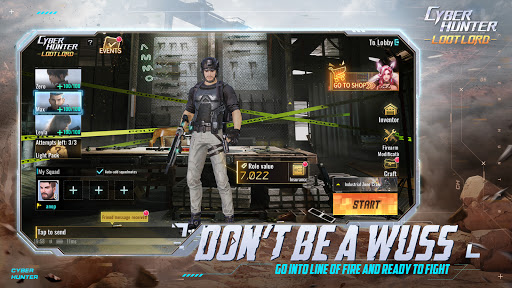 Code Triche Cyber Hunter Lite (Astuce) APK MOD screenshots 2