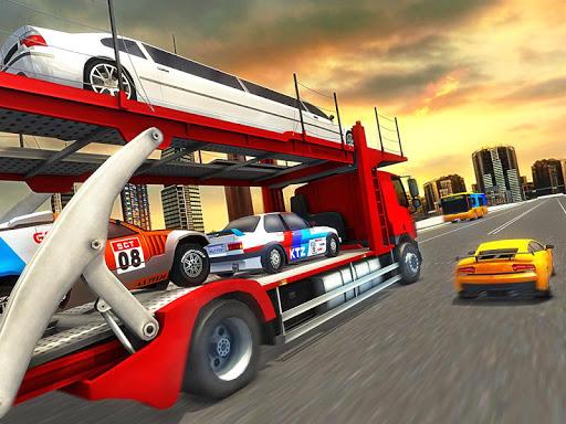 Vehicle Transporter Trailer Truck Game  screenshots 10