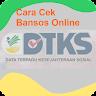 Cara Cek Bansos Online - DTKS KEMENSOS RI Terbaru app apk icon