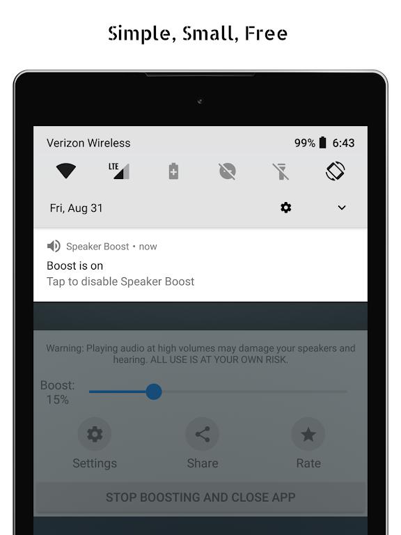 Speaker Boost: Volume Booster & Sound Amplifier 3D  poster 6