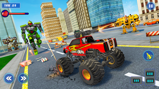 Monster Truck Robot Wars u2013 New Dragon Robot Game 1.0.6 screenshots 4