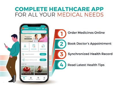 GoMedii -Medicines Delivery, Doctor's Consultation 2.7.0 APK + MOD Download Free 1