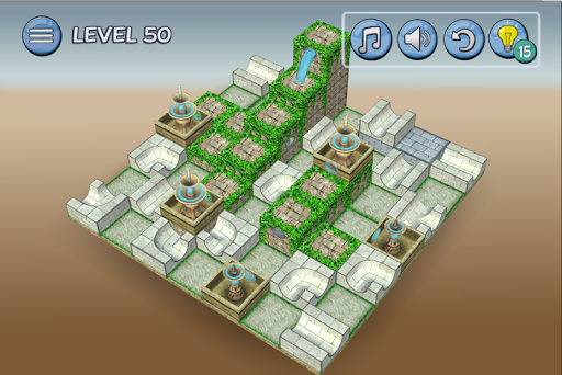 Flow Water Fountain 3D Puzzle 1.2 Screenshots 7