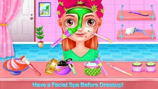 Baby Girl Salon Makeover - Dress Up & Makeup Game  screenshots 2