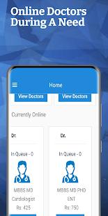 Patient App Contact Doctor - Consult Doctor Online