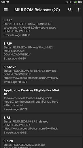 MIUI Updates 1.1 Screenshots 5