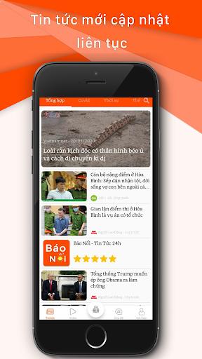 Tin tuc 24h - Bao Noi 1.0 screenshots 1