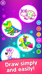Toddler coloring apps for kids! Drawing games! 1
