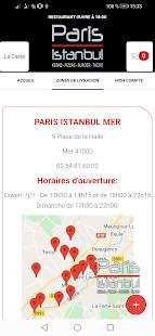 PARIS ISTANBUL MER