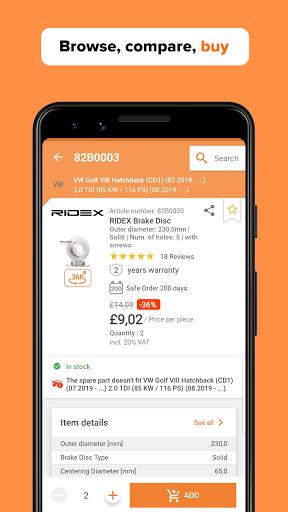 AUTODOC u2014 Auto Parts at Low Prices Online apktram screenshots 8