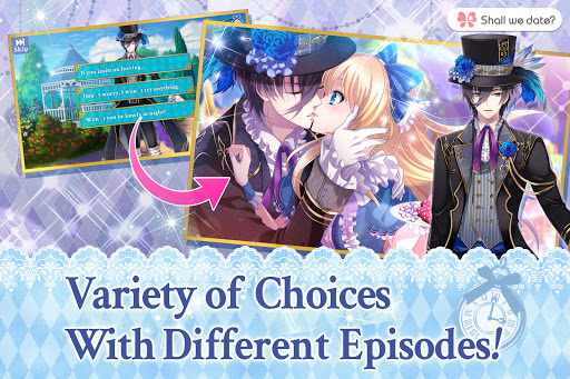 Code Triche Lost Alice - otome game/dating sim #shall we date (Astuce) APK MOD screenshots 3