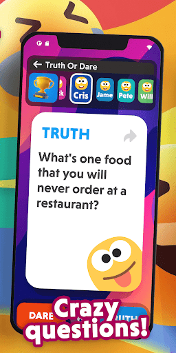 Truth or Dare - Funny Questions and Challenges 23.65 screenshots 4