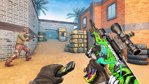 FPS Gun Games 3D Offline: New Action Games 2021 apktram screenshots 12