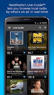 NextRadio Free Live FM Radio APK Download For Android 1