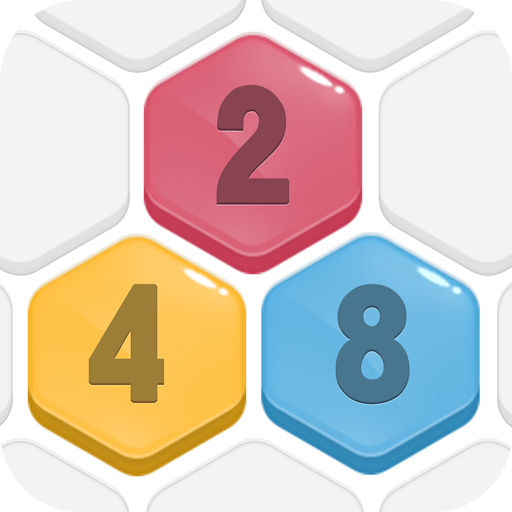 HexPop:Mergenumber to 2048, Hexa PuzzleGames