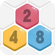 HexPop: Merge number to 2048, Free Puzzle Games