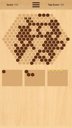 wooden hexa puzzle screenshot 3