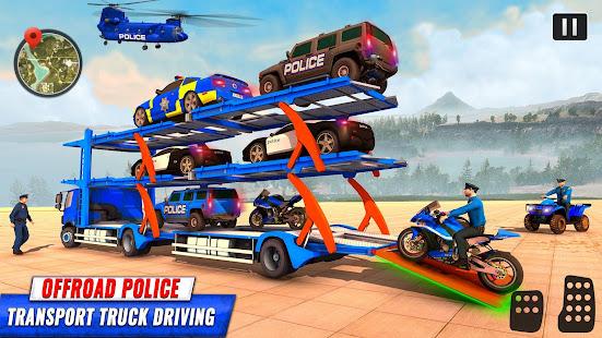 Grand Police Prado Car Transport 3.6 Screenshots 4