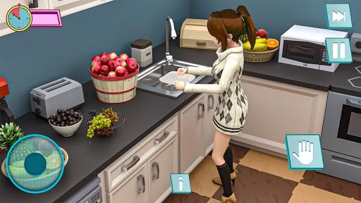 Pregnant Mother Anime Games:Pregnant Mom Simulator  screenshots 9