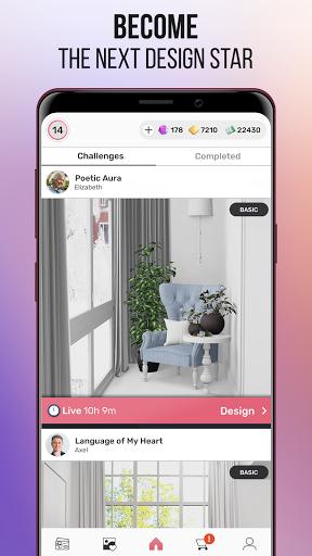 Home Design Star : Decorate & Vote 1.3.7 screenshots 4