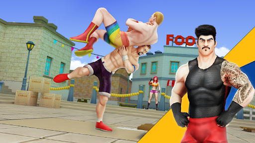 Cage Wrestling Games: Ring Fighting Champions 1.1.7 screenshots 1