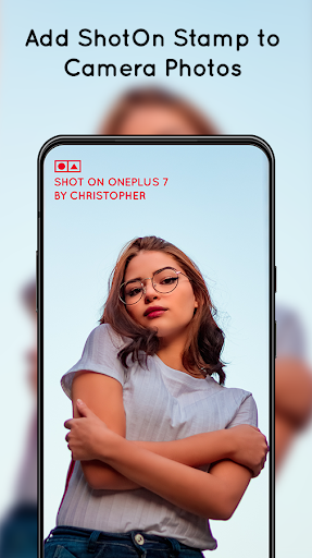 Shot On for OnePlus: Auto Add Shot On Photo Stamp 1.1 screenshots 1